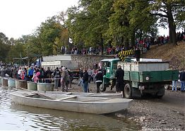Slavnostní výlov Rožmberka ve dnech 12. – 14. října 2012