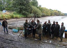 Výlov rybníka Cirkviční pro děti ze soběslavského denního stacionáře Rolnička