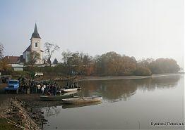 Výlov rybníka Bošilec - listopad 2005