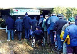 Den produkční rybářství - Výlov Rožmberk 2004