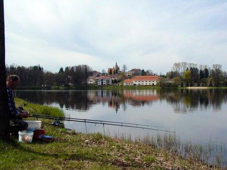 Sportovní rybolov - Rybník Hejtman